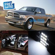 7x Wearproof White Led Light Interior Package for Dodge Ram 1500 2009-2017