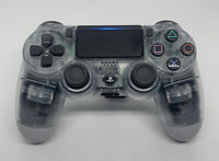Genuine Sony PS4 DualShock 4 Wireless Controllers - Crystal