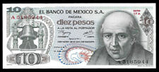 World Paper Money - Mexico 10 Pesos 1977 @ Crisp Unc
