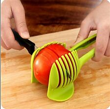 Handheld Circular Fashion Lemon Slices Tomato Slicer