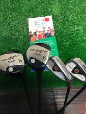La Jolla Junior Golf Club Set of 4: 1/3 & 5/7 Woods, 7/8 Iron, 9/PW, Graphite