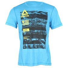 Camisetas y polos de deporte de hombre de manga corta Reebok