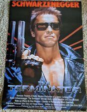 "The Terminator 1984 Original Movie Poster 27"" x 40"" Rolled Schwarzenegger"