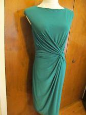 Ralph Lauren women's lined emerald detailed evening NWT dress size 10
