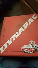 Dynapac CA25 Series 2 Operating & Maintenance Manual