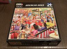 Jigsaw Puzzle Americana Good Times Diner 550 pieces NEW Juke Box Rocking Dance