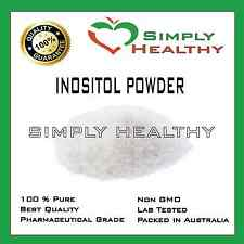 INOSITOL 500g UNFLAVOURED PHARMACEUTICAL GRADE PREMIUM QUALITY BEST AVAILABLE