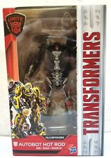 HASBRO TRANSFORMERS MOVIE 5 THE LAST KNIGHT AUTOBOT HOT ROD DELUXE CLASS