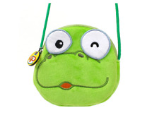 Korean TV Anime Crong Face Shaped MIni Cross Pouch Bag for Kids