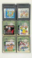 Donkey Kong GB, Shogi 2, Pokemon de Panepon, Yu Gi Oh etc Game Boy Color GBC