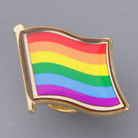 LGBT Enamel Lapel Pin Badges Gay Pride Charity Enamel Brooches for charity