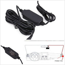 5 X 12V To 5V Car DVR GPS Mini USB Hard Wire Charger Cable 3.5mm Step-Down Line