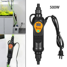 500W Adjustable Aquarium External Heater 20-35 degree Digital LCD For Fish Tank