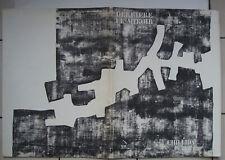 DERRIERE LE MIROIR No 174.CHILIDA LITHOGRAPHIE
