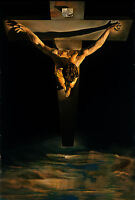 Framed Print - Salvador Dali Christ of St John of The Cross (Picture Poster Art)