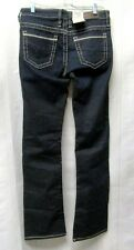 BKE Buckle Payton Bootcut NEW Size 27L Dark Mid Curvy Jeans Actual 30 X 34.5