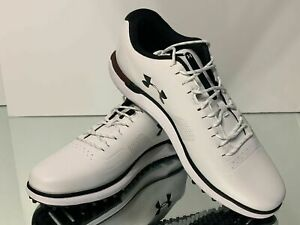 New Under Armour HOVR Fade Golf Shoes White Men's Size 9