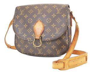 Authentic LOUIS VUITTON Saint Cloud GM Monogram Shoulder Bag #38762