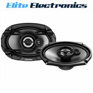 "CLARION SE6934R  6X9"" SE SERIES 400W 3-WAY COAXIAL SPEAKERS SE-6934R"