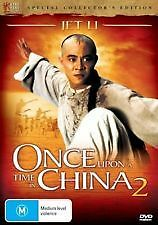 Once Upon A Time In China 2 (DVD, 2007) Region 4