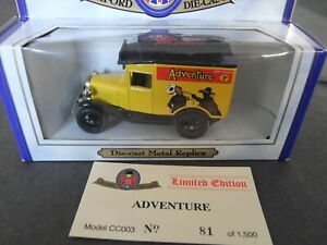 1928 Ford Model A Van Oxford Diecast Ltd Ed - various types & liveries available