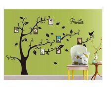 Family Tree Photo Frame Birds Vinyl ART Decal Wall Sticker Home Decor 90*60CM UK