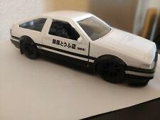 Jada 1:32 Metals Initial D 1986 Toyota Corolla Trueno AE86