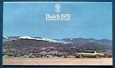 Prospekt brochure 1971 Buick   (USA)
