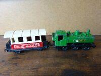 Matchbox Locomotive & passenger coach  GWR  1978 / 79