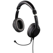 Black Desire Headset Stereo Mic For PC LAPTOP MAC Mobile Andriod Iphone Phone