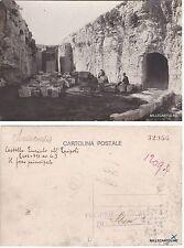 # SIRACUSA: BOZZA FOTOGRAFICA  12094  CASTELLO EURIALO ALL'EPIPOLI- FOSSO