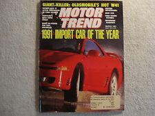 Motor Trend 1991 March Ford Crown Vic BMW Jeep Pontiac Sunbird Infiniti Q45