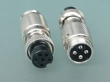 CROSSOVER ADAPTER FOR MICROPHONES - 4 PIN CYBERNET -> 6 PIN PRESIDENT & MIDLAND