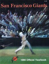 1980 San Francisco Giants MLB Baseball YEARBOOK