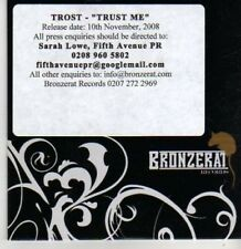 (BP901) Trost, Trust Me - DJ CD
