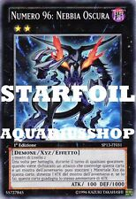 Yu-Gi-Oh! Numero 96 Nebbia Oscura STARFOIL SP13-IT031 forte carta di yuma Zexal