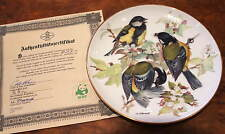 Bradford Exchange - WWF Ursula Band - Great Tit Plate