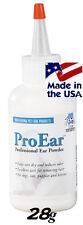 TP Pro EAR POWDER Pet DOG CAT Grooming*For use w/Hemostat,Tweezer,Hair Pulling
