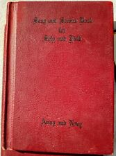 Us Ww Ii Song and Service Hymnals, 10 for $28.00