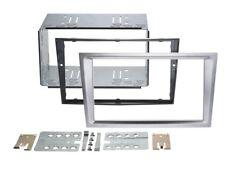 2-DIN RADIO FACEPLATE OPEL CORSA C Aluminium