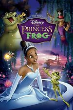 Disney The Princess and The Frog DVD Movie