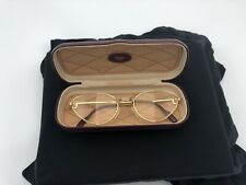 fd2a1931a5 VINTAGE EYEGLASSES CARTIER RIVOLI GOLD SILVER WOMAN FRAME SUNGLASSES VENDOME