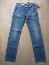 Extra Long Faded Skinny, Slim Jeans for Men