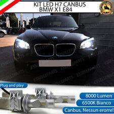 KIT FULL LED BMW X1 E84 RESTYLING LED H7 6500K 8000 LUMEN CANBUS ANABBAGLIANTI