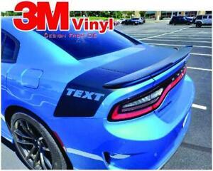 Tail Stripe Fits 2015-2020 Dodge Charger Graphic Decal Daytona Hemi RT SRT 392