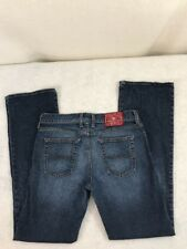 Lucky Brand size 30 mid rise flare preowned regular length