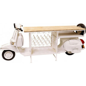 BAR Table Motorcycle Scooter BAR Counter Cocktail Cabinet Luxury Style Ausschank