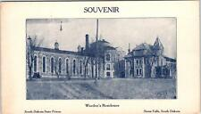 SIOUX FALLS, SD South Dakota  WARDEN'S RESIDENCE SD State Prison c1910s Card