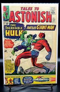 TALES to ASTONISH #59 (Marvel Comics, September 1964)