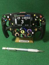 Sebastian Vettel_1/2 Size_Replica SF70H steering wheel_F1_Ferrari. Not Amalgam.